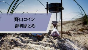 野口コイン評判_まとめ